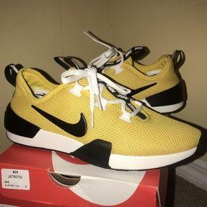 Yellow Nike Ashin Modern